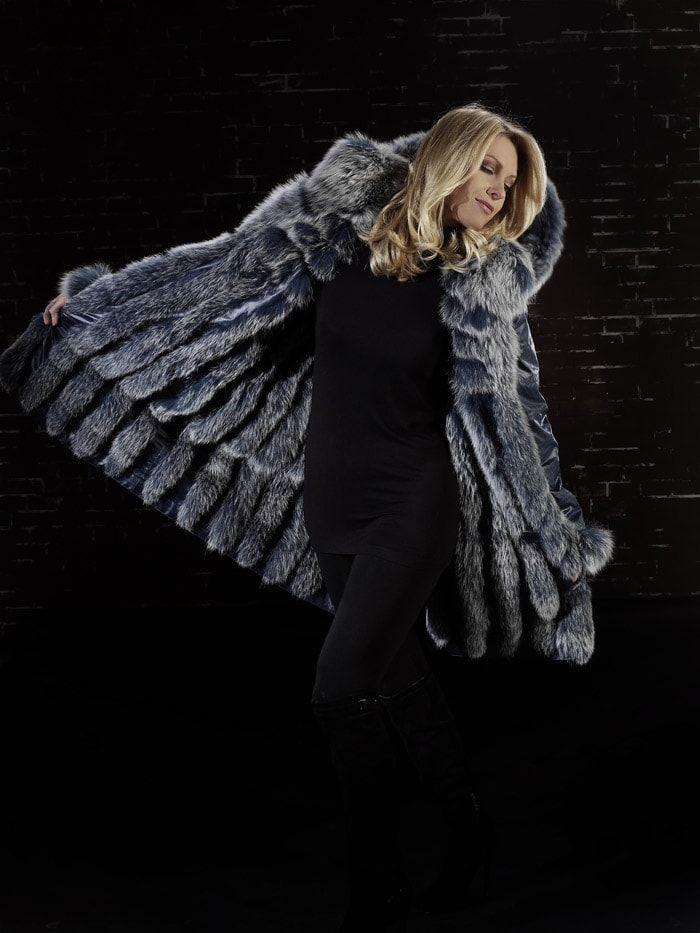 Rachel - Jacke Textil / Fuchs reversibel